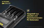 Nitecore UM4 - intelligentes Ladegerät für Li-Ion, LiFePo4, Ni-MH, Ni-CD Akkus – Bild 7