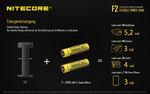 Nitecore F2 FlexBank Indoor/Outdoor-Ladegerät für Li-Ionen-Akkus – Bild 4