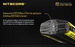 Nitecore F2 FlexBank Indoor/Outdoor-Ladegerät für Li-Ionen-Akkus – Bild 5