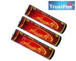 Original Trustfire 18650 geschützter Li-Ion-Akku 3000mAh (Flame) - 3 Stück