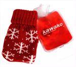 kawako Taschenwärmer/Handwärmer - Wärmflasche mit Strickbezug WF7511