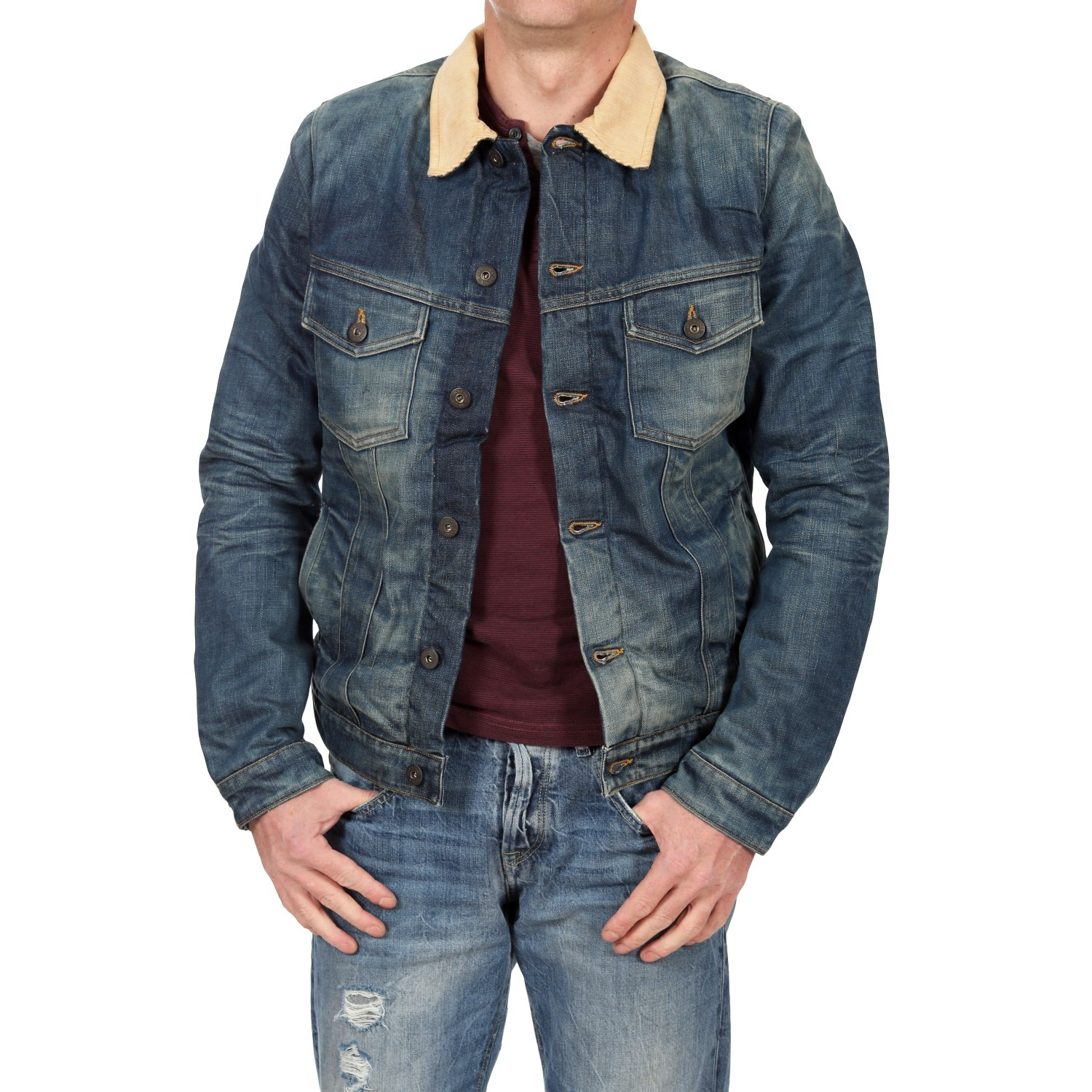 jack jones herren jeansjacke m nnerjacke alvin denim. Black Bedroom Furniture Sets. Home Design Ideas