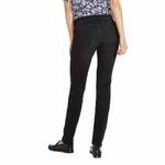 Wrangler Damen Jeans, Frauenjeans W28LLX86R Slim Nighttime Black 002