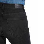Wrangler Damen Jeans, Frauenjeans W28LLX86R Slim Nighttime Black Bild 4