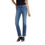 Wrangler Damen Jeans, Frauenjeans W27UU486L High Rise Bootcut Misty Blue