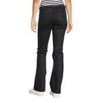Wrangler Damen Jeans, Frauenjeans W27BCK81H Flare Perfect Black Bild 2