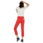 Wrangler Damen Jeans, Frauenjeans W229DM23K Cropped Straight Red Bild 3