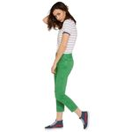 Wrangler Damen Jeans, Frauenjeans W229DM121 Cropped Straight Green Bild 2