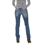 Wrangler Damen Jeans, Frauenjeans W24SX779I Drew Greatest Blue Bild 3