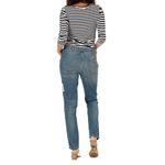 Wrangler Damen Jeans, Frauenjeans W26Q9672M Ashboro Boyfriend Blue Coctail Bild 3
