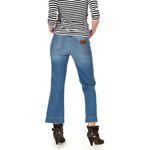 Wrangler Damen Jeans, Frauenjeans W230BG39W Cropped Flare Retro Vibes 003