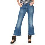 Wrangler Damen Jeans, Frauenjeans W230BG39W Cropped Flare Retro Vibes - high waist