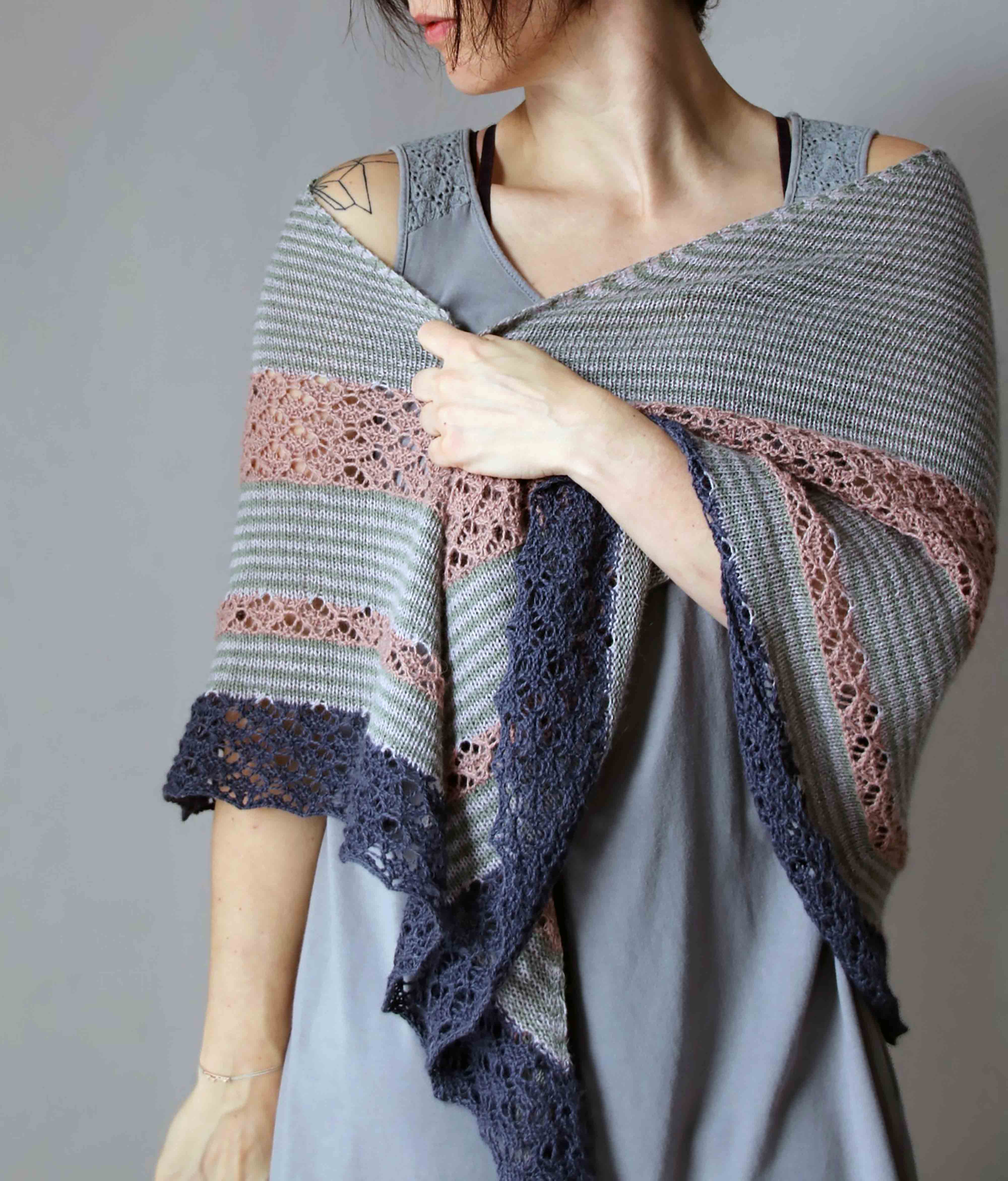 KNITTING KIT | SHAWL ROCK MY SHAWL