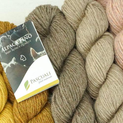 50g Pascuali Alpaca Fino Wolle Strickwolle aus 100% Alpakawolle (Babyalpaka)
