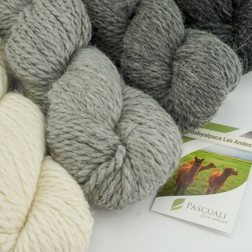 100g Babyalpaca Los Andes Strickwolle | 100% Alpakawolle