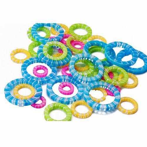 ChiaoGoo Stitch Markers Maschenmarkierer aus Kunstharz