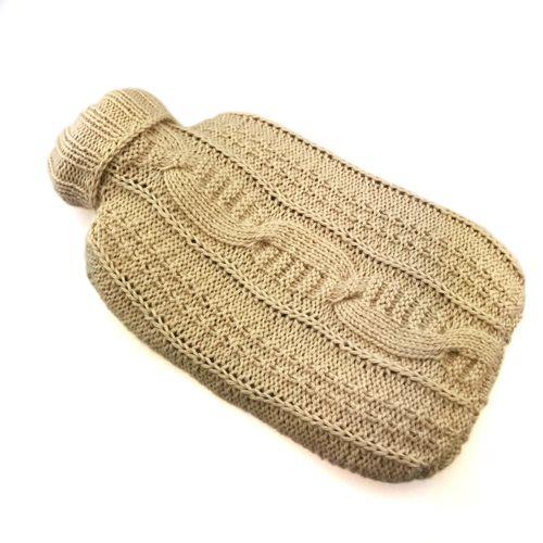 Wollpaket | Wärmeflasche Calda aus Yak Mongolia | Strickset