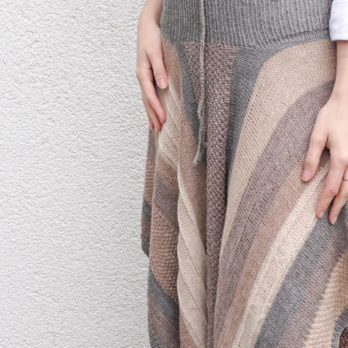 Pattern | Skirt and poncho Abedul made from Puno