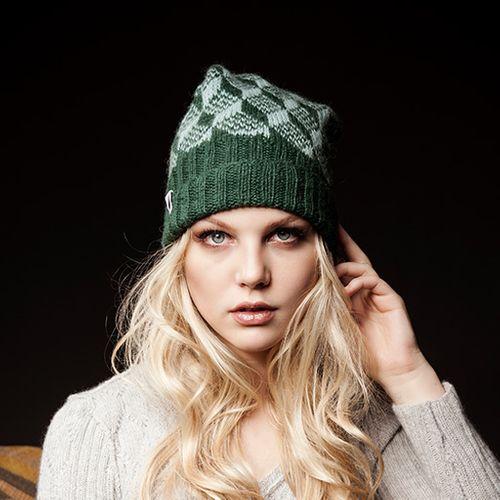 Wollpaket Mütze Cubetto aus Alpaca Fino + Strickanleitung Walerija Smirnova