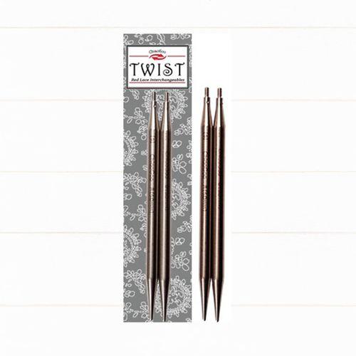 ChiaoGoo Nadelspitze Edelstahl TWIST Lace Tips