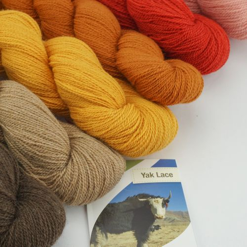 50g Pascuali Yak Lace Luxury Wool Knitting Wool from 100% yak wool
