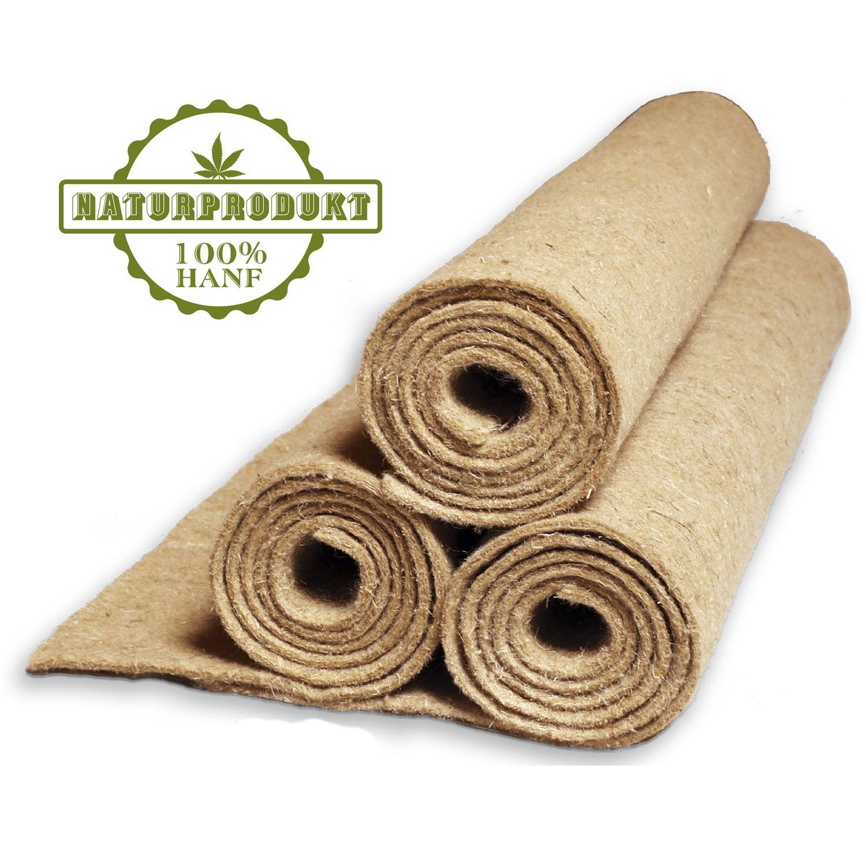 natursache I Hanfmatte - Abdeckmatte für Abfälle im Wurmkomposter Wurmkiste Wurmfarm I Schützt vor Fruchtfliegen I sorgt für optimale Bedingungen im Komposter (3 Stück) – Bild 1