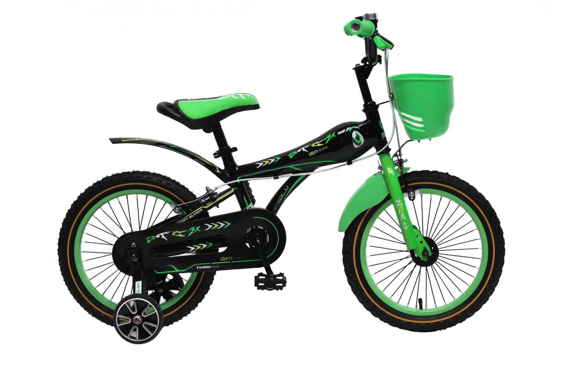 kinderfahrrad 16 zoll kinder fahrrad spielrad rad bmx gr n. Black Bedroom Furniture Sets. Home Design Ideas