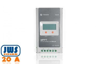Solar Laderegler MPPT 20A automatische Erkennung 12V 24V Controller mit Display – Bild 1