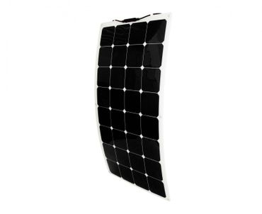 Solar panel flexible 140W Backcontact 12V Semi flex flexibel Monokristallin