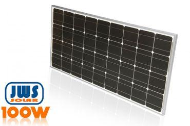 100Watt 100W Solarpanel 12Volt MONOKRISTALLIN – Bild 2