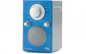 Tivoli Audio iPAL Monoradio 1092 blau/silber Outdoor-Radio palipalgb