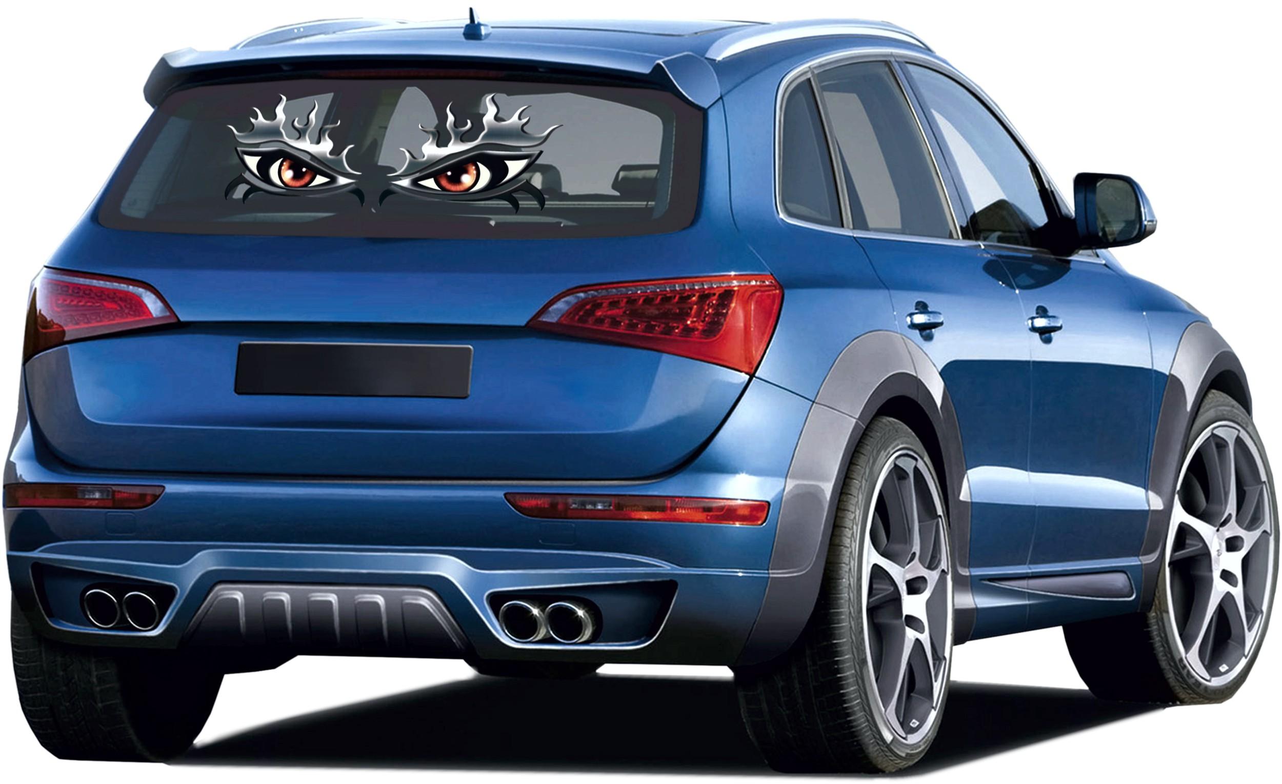 Window- and car-tattoo eyes metallic – Bild 1