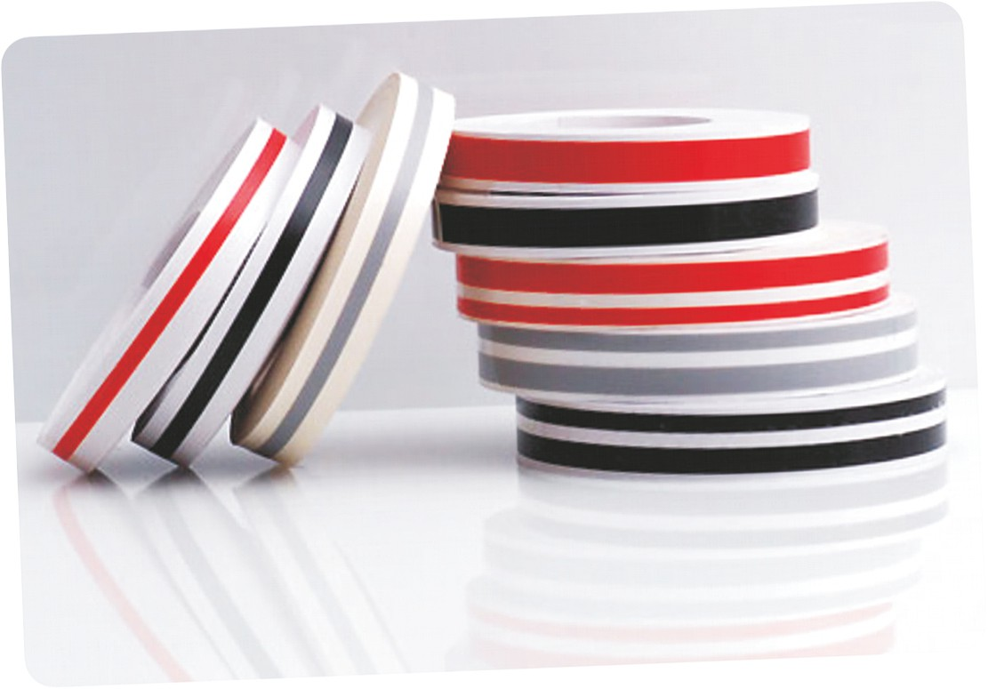 Car Deco-Stripe silver 12 mm x 10 m  !!!Double-Stripe!!! – Bild 2