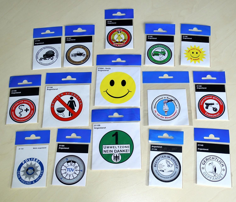Sticker Polizei - Dein Freund & Helfer Ø 60 mm – Bild 2