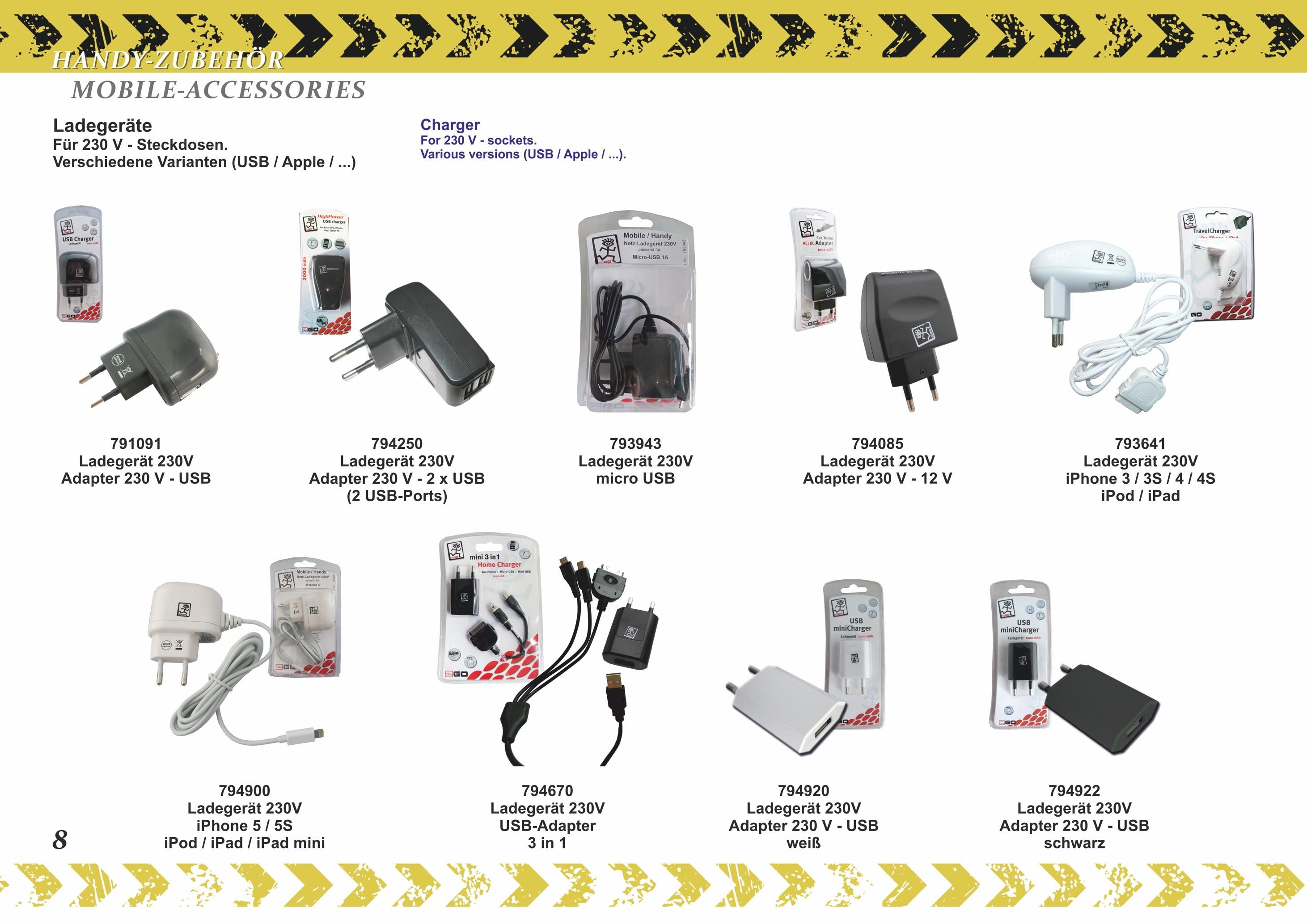 2GO USB-Ladekabel mit 10 Adaptern – Bild 6