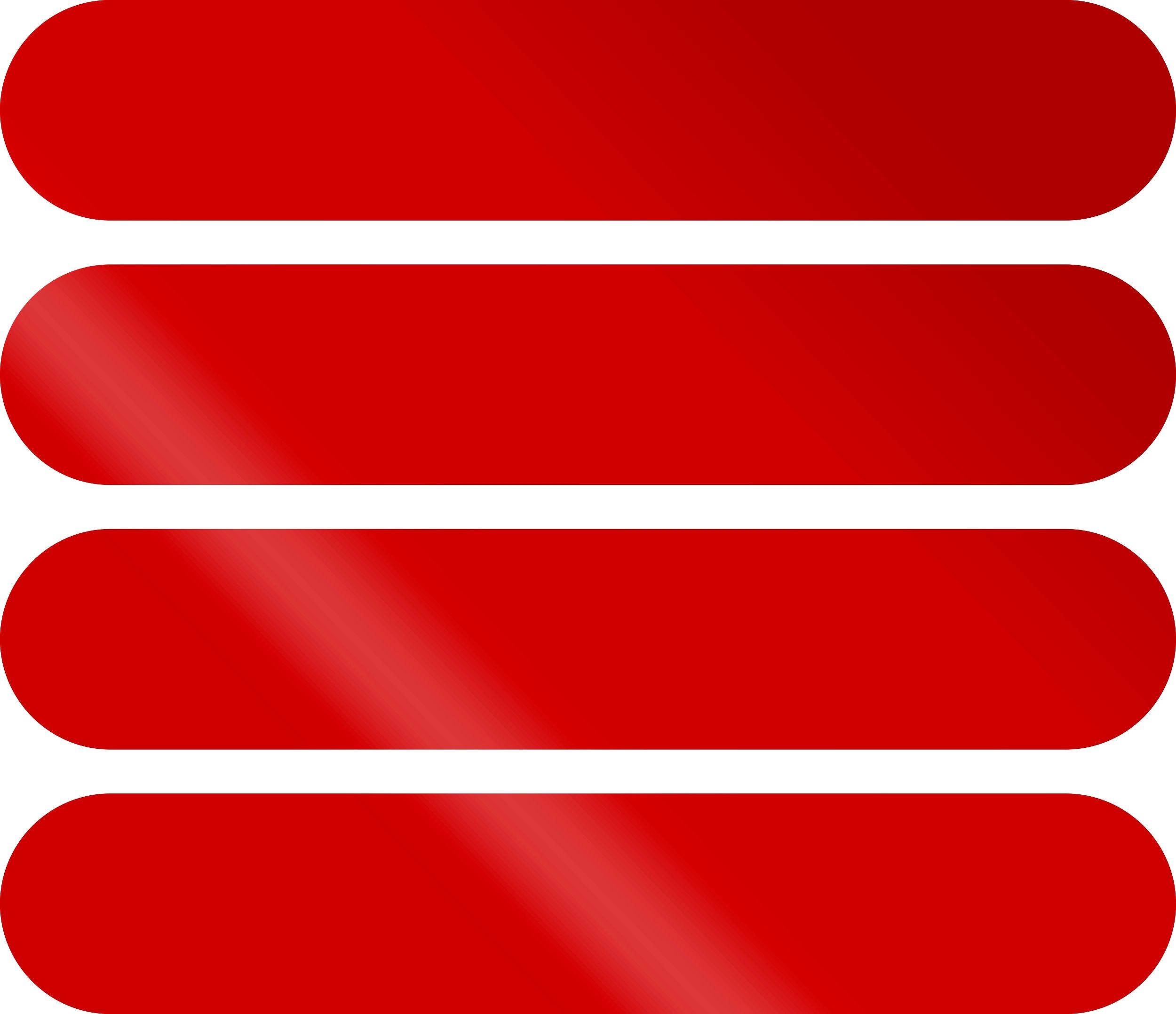 Aufkleber Reflektionsstreifen 80 x 15 mm rot