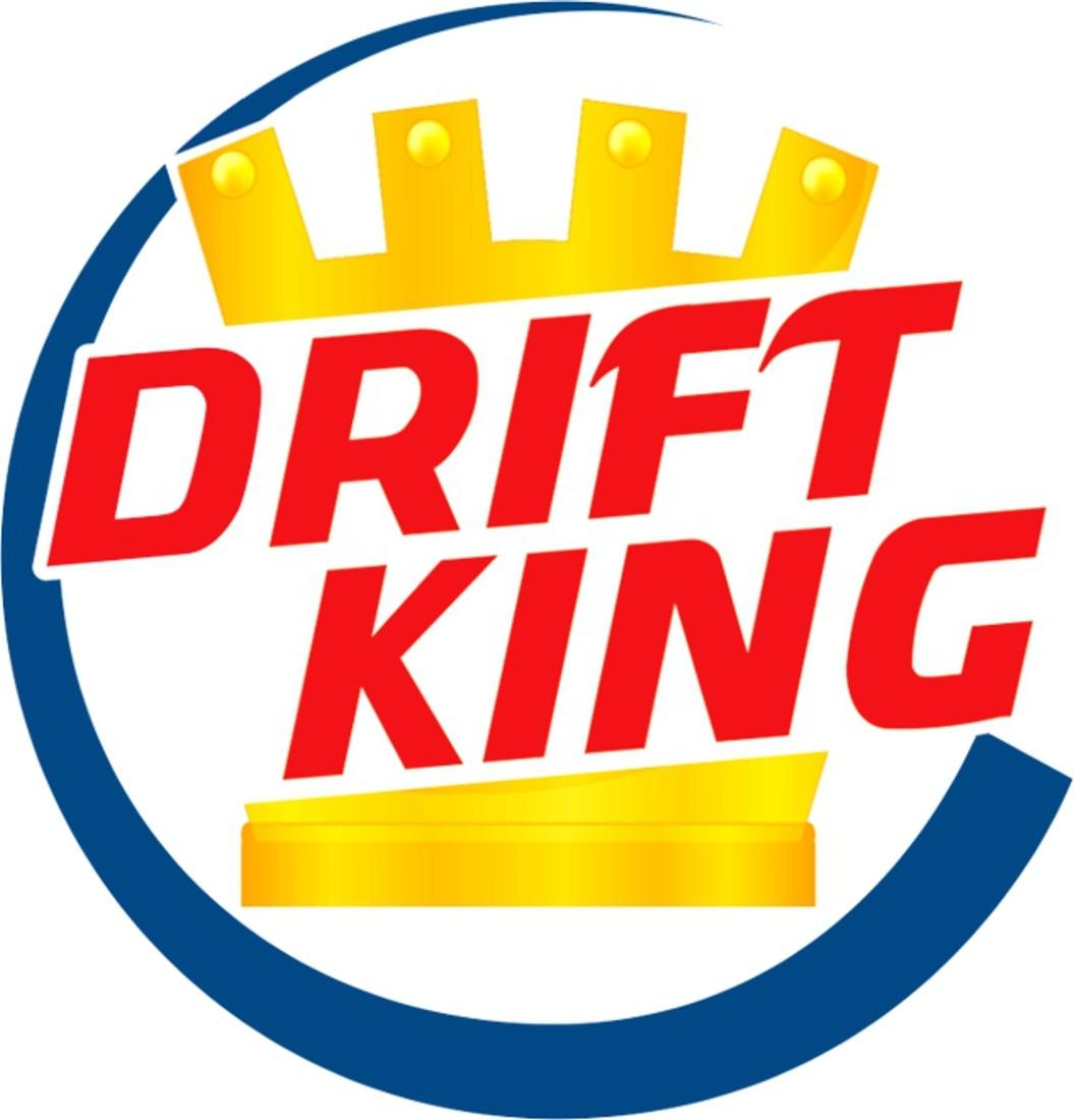 Aufkleber Drift King 90 mm