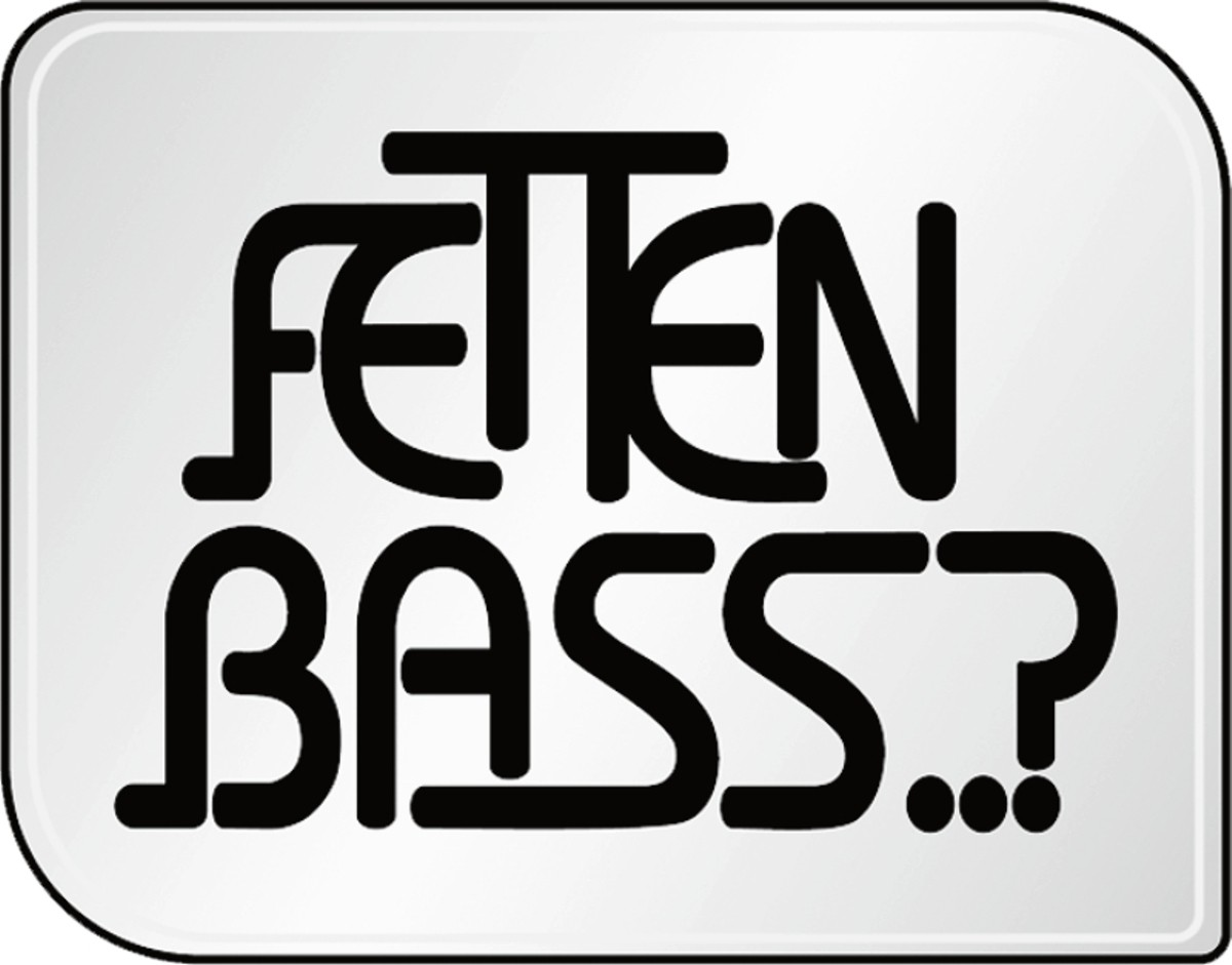Autocollant Fetten Bass..? 105 x 90 mm – Bild 1