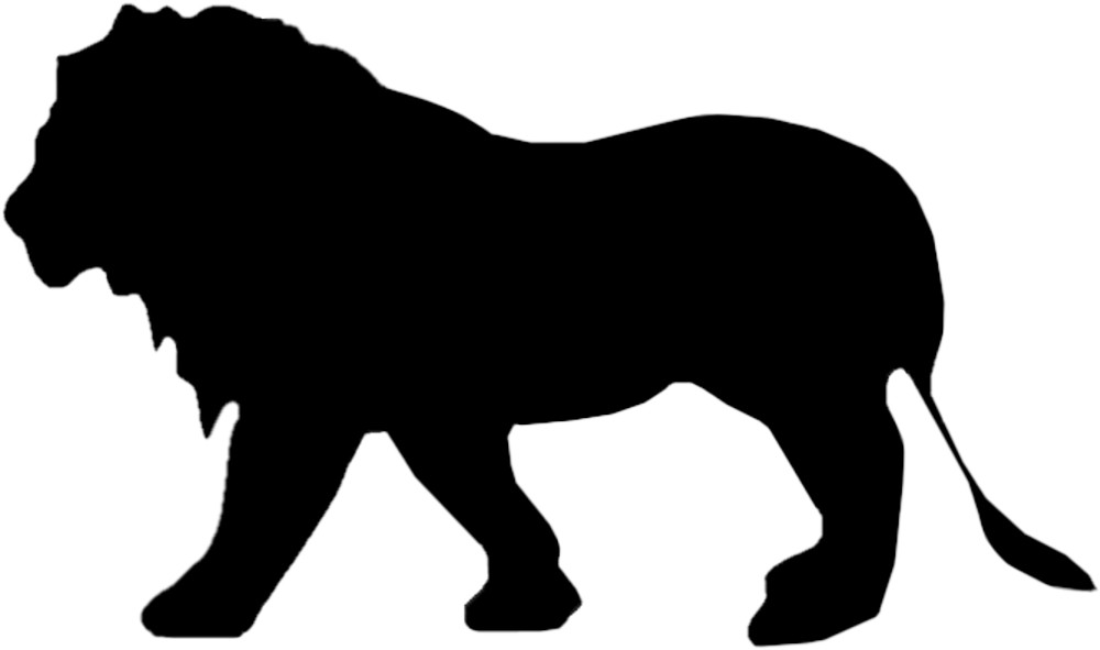 Sticker Outline Lion – Bild 1