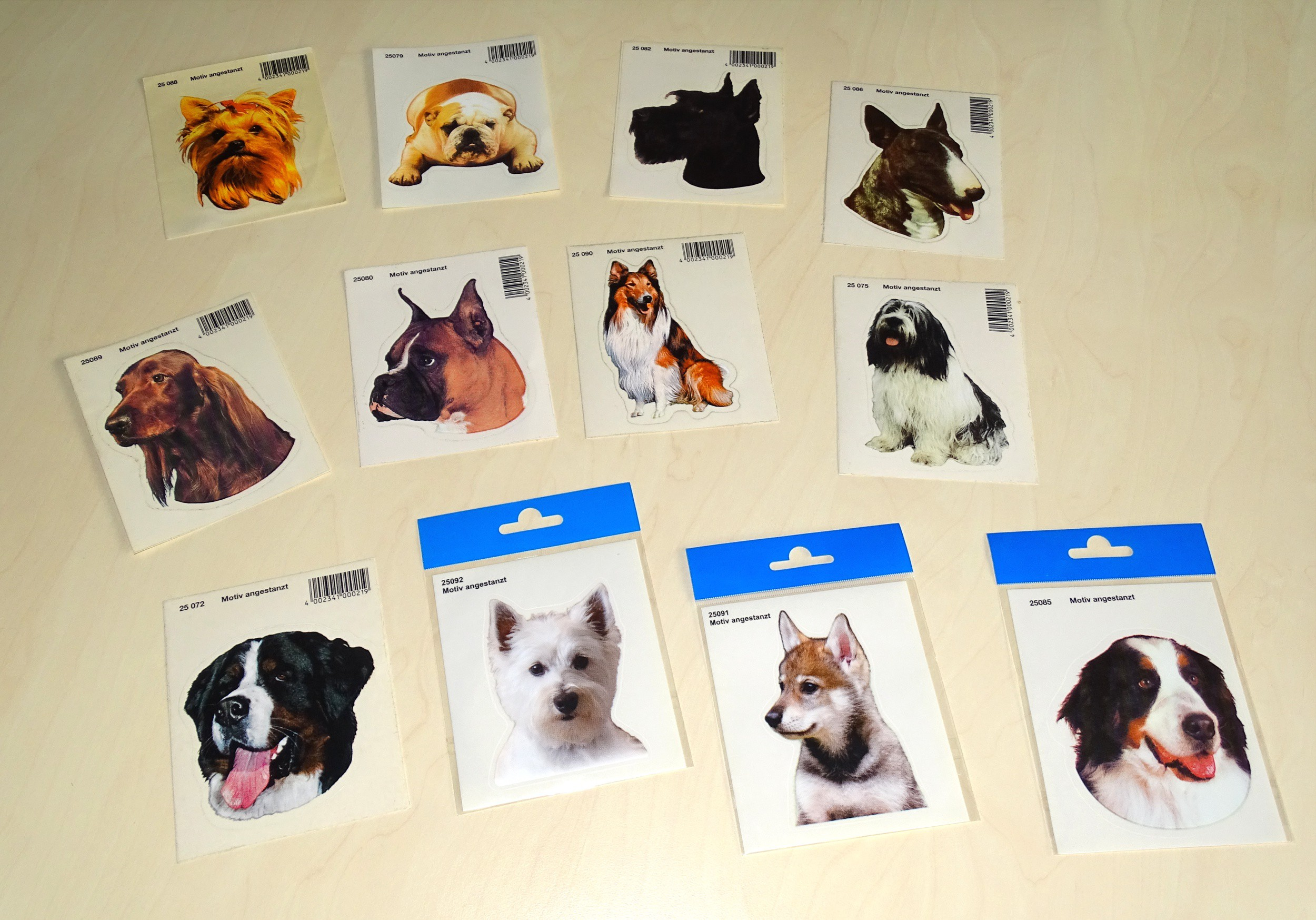 Sticker herder dog 125 x 110 mm – Bild 2