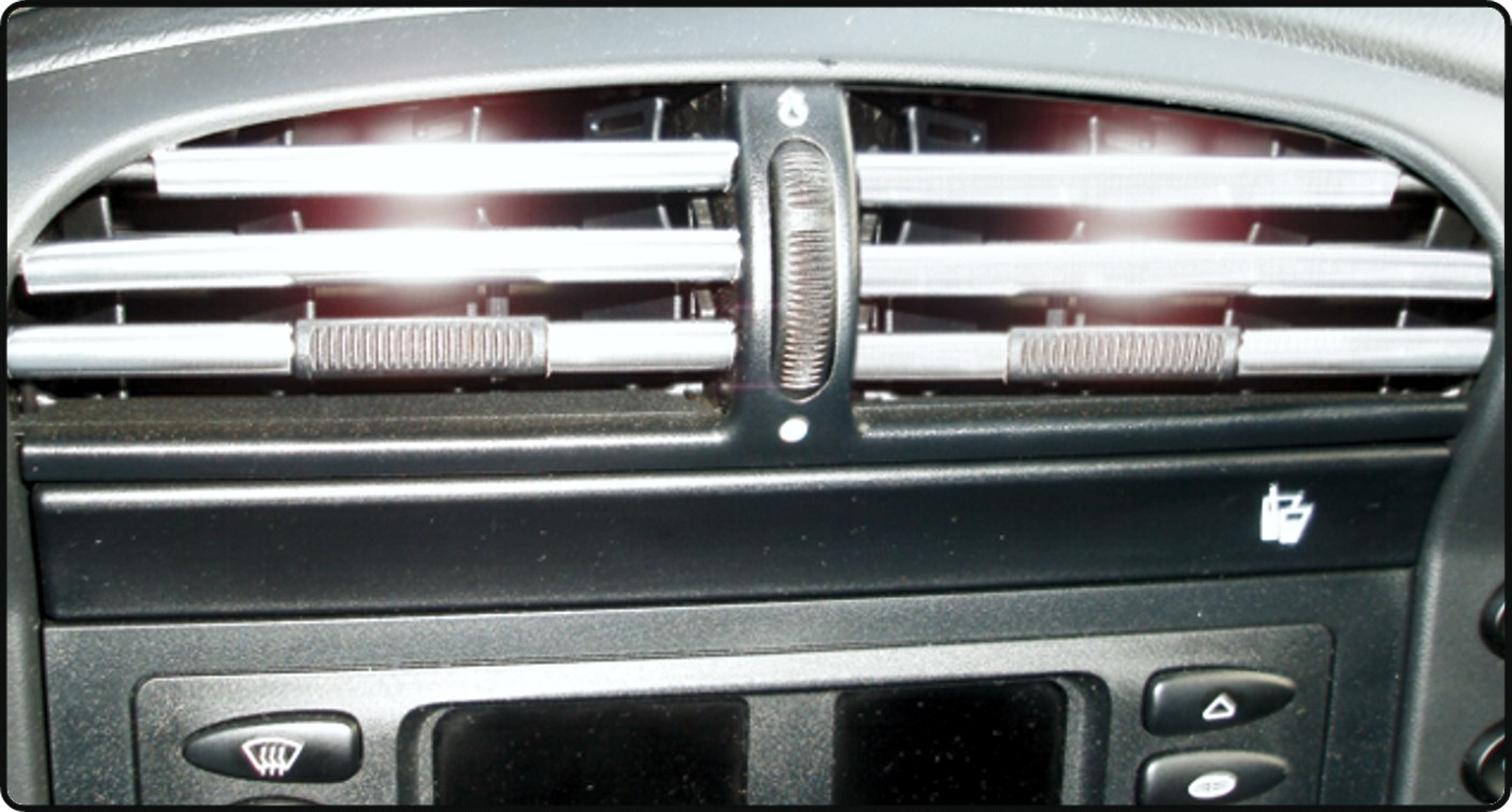 Car Ventilation trim chrome – Bild 1