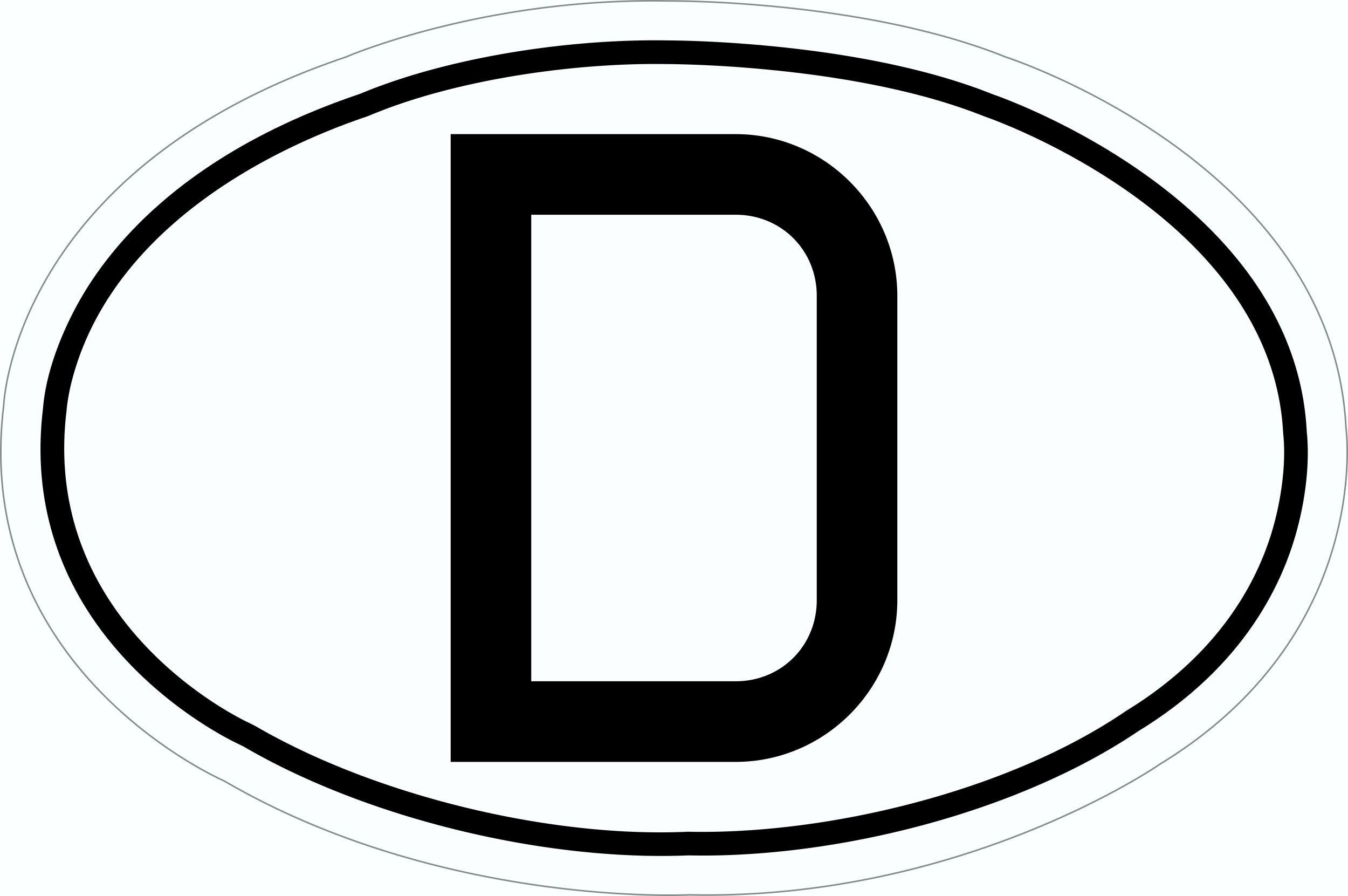 Aufkleber Deutschland mit Magnetfolie 125 x 85 mm Deutschland Fanartikel Olympia – Bild 1
