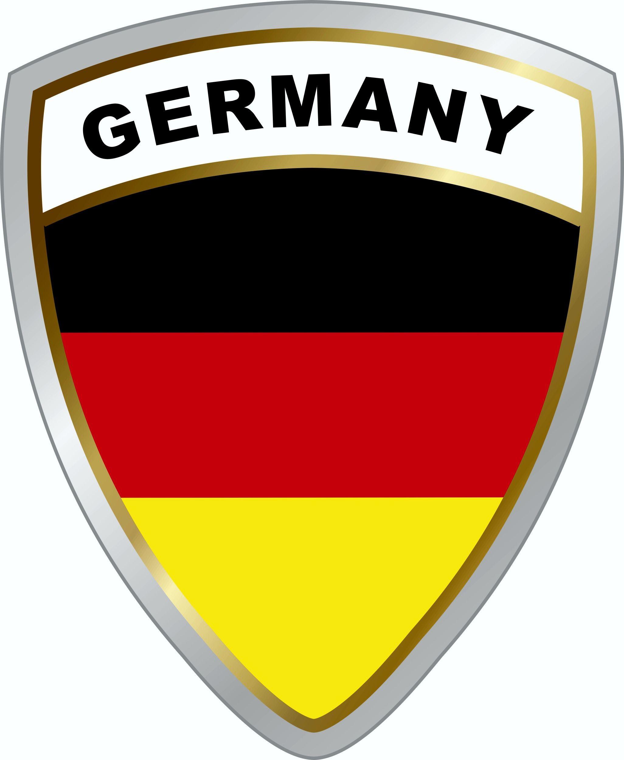 Sticker Germany-crest dimension 45 x 35 mm – Bild 1