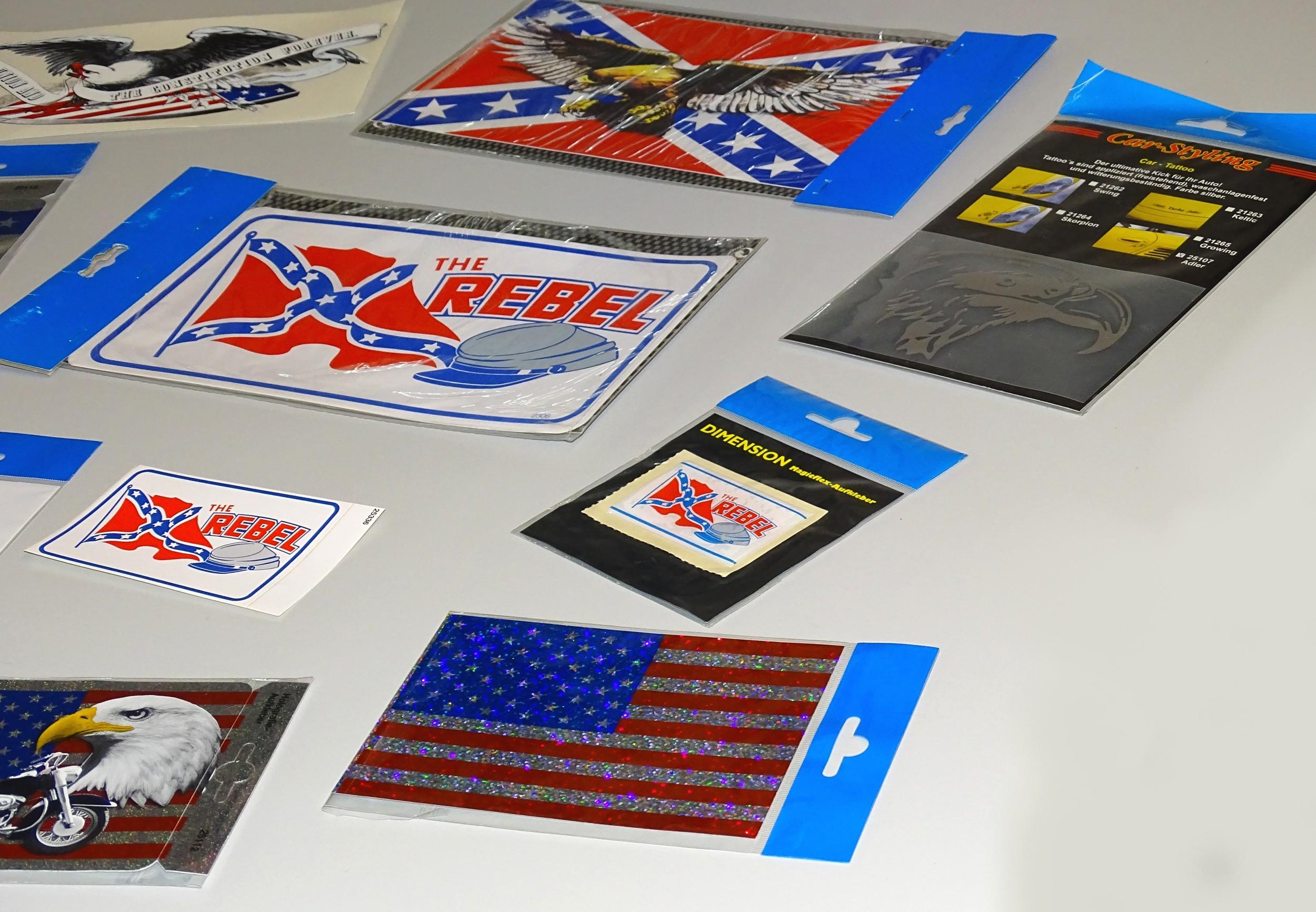Sticker The Rebel 260 x 150 mm – Bild 4