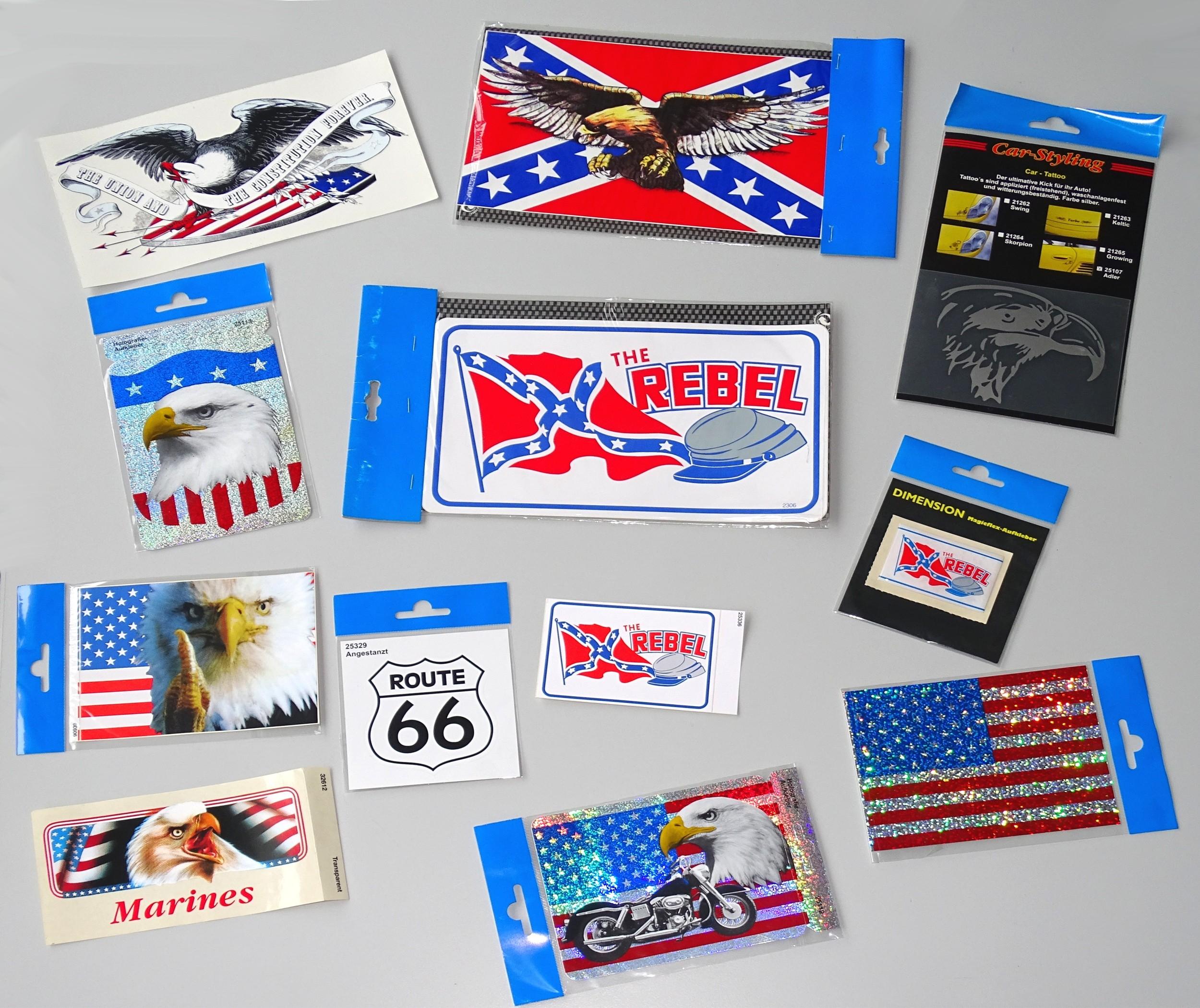 Aufkleber The Rebel 110 x 70 mm – Bild 2
