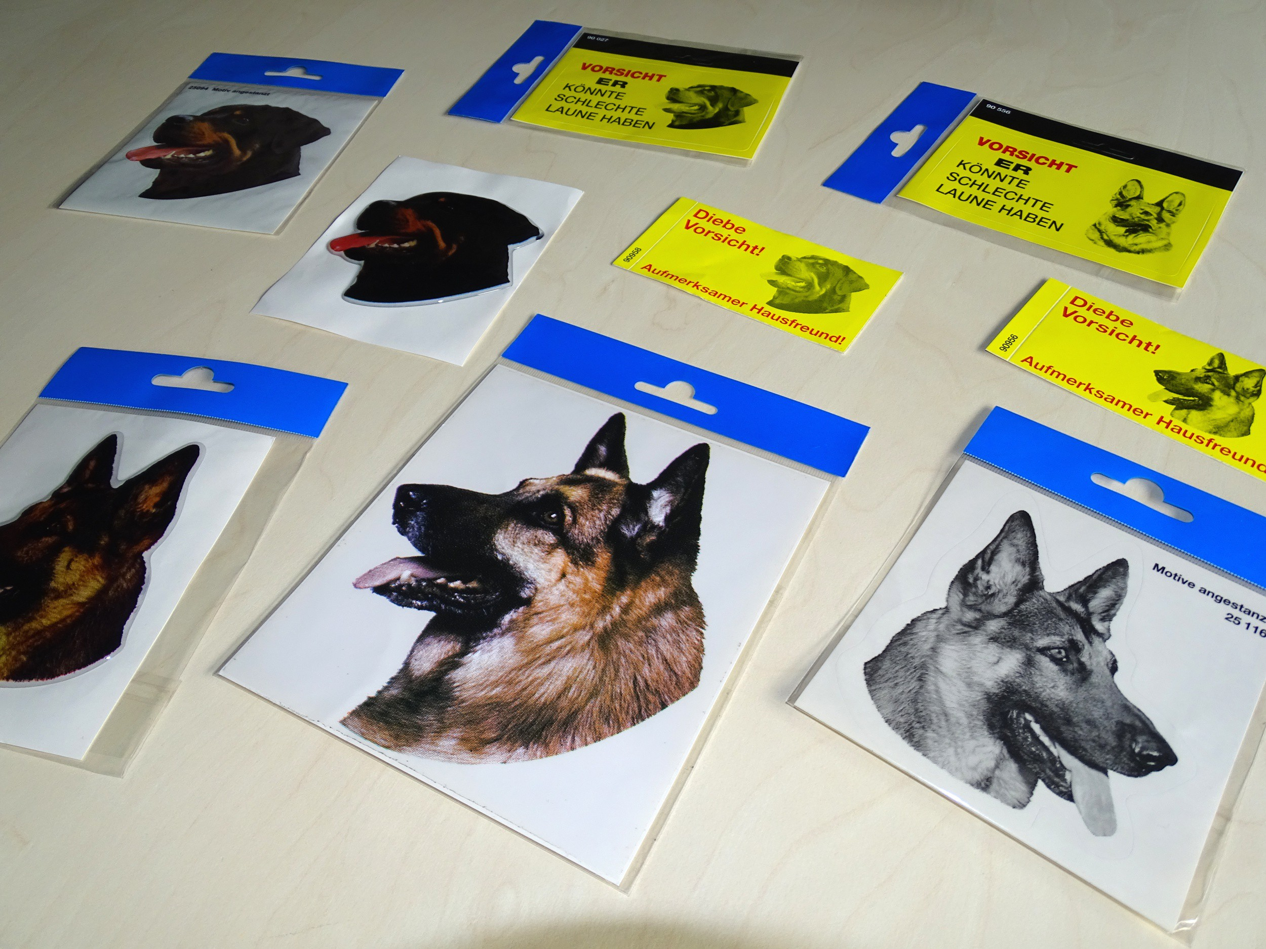 Sticker german shepherd 160 x 140 mm – Bild 3