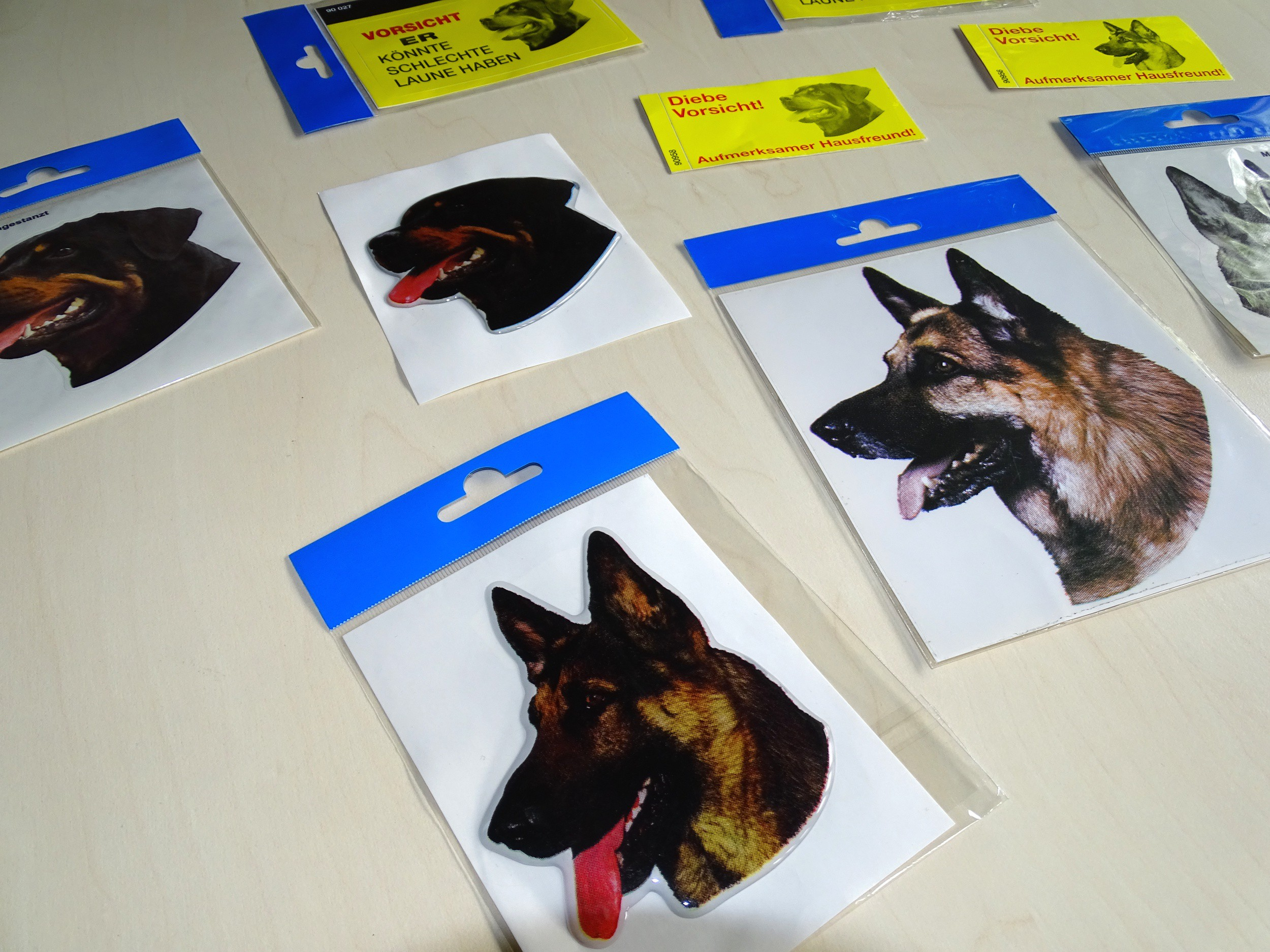 Sticker german shepherd 160 x 140 mm – Bild 4