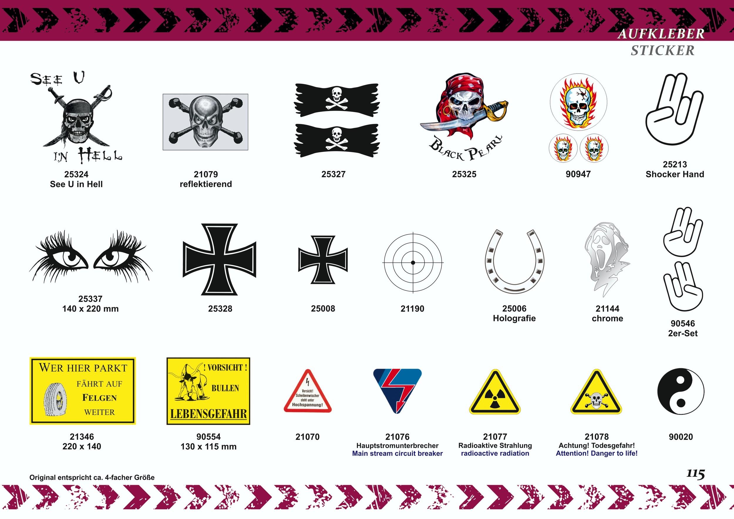 Aufkleber Bitte anschnallen! Fasten seat belts! schwarz – Bild 8