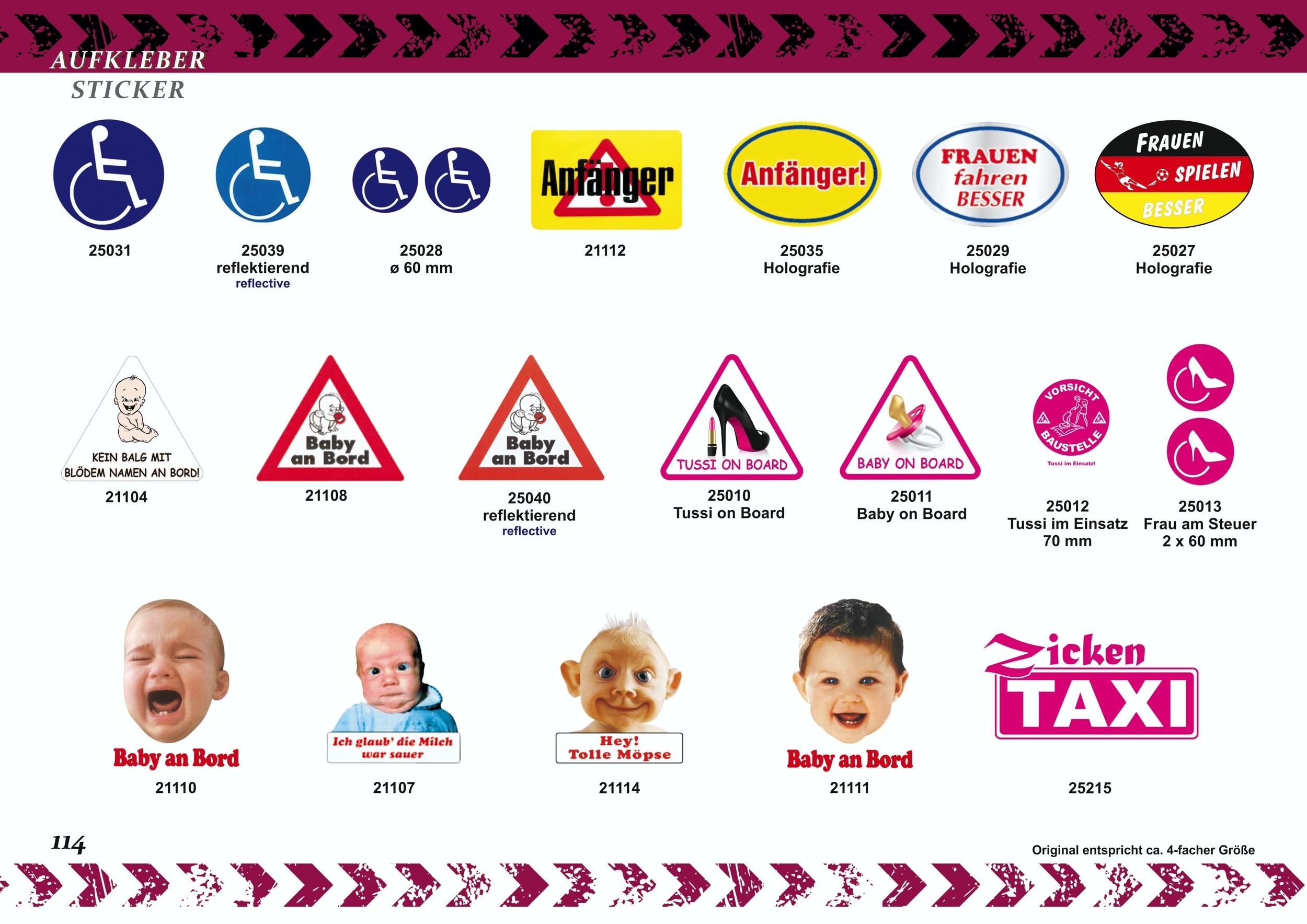 Sticker  Das Bundesgesundheitsministerium warnt: Das Berühren dieses Fahrzeugs kann schlagartig Zahnausfall verursachen! – Bild 7