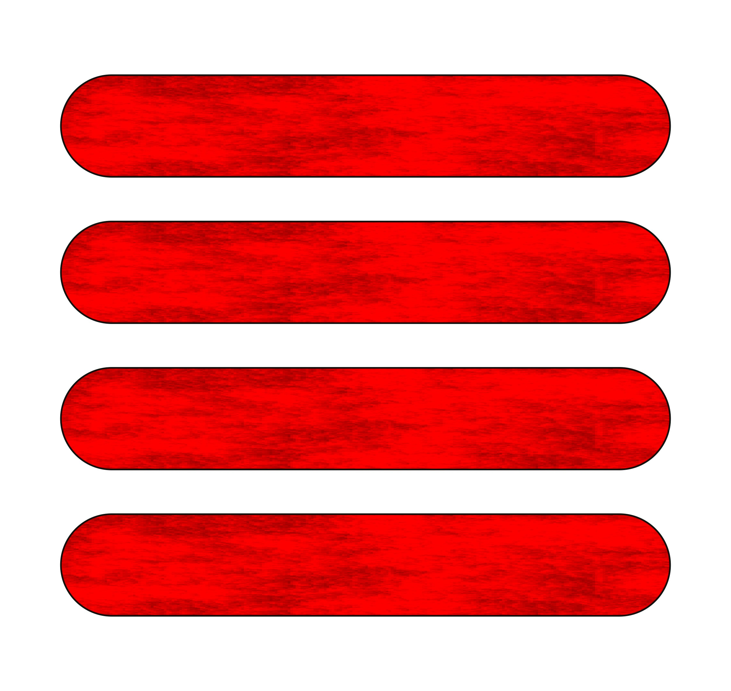 Sticker holography-glow-reflectors 110 x 90 mm red – Bild 1
